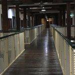 corridor between lift and hotel room