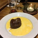 Sticky Toffee Pudding with Apple