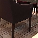 Stuhl von der Seite