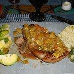 Here's my Steak Dunnagin - looks so good I want to go back!!!