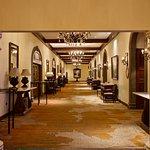 Hallway to meeting rooms.