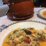 Monkfish risotto