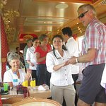A great time was had by all - dedicated and friendly staff of Tren Crucero