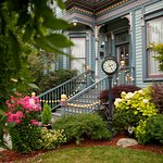 Beautifully restored Queen Anne Victorian home and garden.