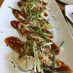 Sesame Chicken Dumplings