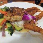 Macademia Nut Mahi Mahi & Coconut Shrimps