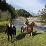 Trail ride on the Snake River, Grand Teton National Park