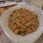Risotto Pollo Gorgonzola - good flavor and portion size