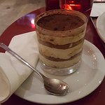 Tiramisu - larger of the two sizes for a buck more