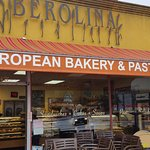 The sign says it all. European Bakery.