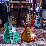 Gibson and Gretsch guitars too!