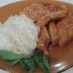 Marinated Pork & rice