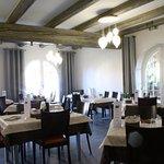 salle du restaurant renové