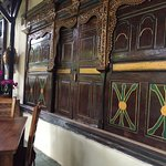 Antiques and old Bali photos adorn the walls
