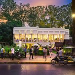 Siem Reap's premier location to dine and relax after a day at the temples.