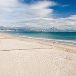 Panorámica de la Playa de San Juan, a solo dos Km de nuestro establecimiento.