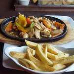 Sizling Chicken and Chips