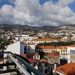 View from roof terrace over Funchal