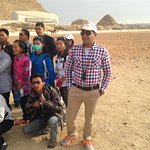 in pyramids
