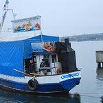 Der Fischkutter Free Willy ins freie Meer