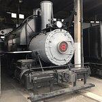 Train museum, engine 8