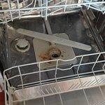 Voici l'état de propreté du fond du Lave Vaisselle.