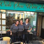 The lovey ladies of Wish You Were Here cafe