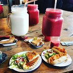 Smoothies and delicious sandwiches!!!