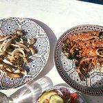 Gamberi e Calamari Grigliati