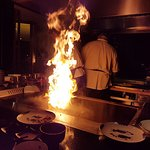 Fine teppanyaki restaurant