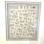 Nice to see warli paintings hanging on one of the walls...