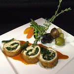 Breaded Chicken Roulade