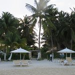 Beach entrance/chairs to Playa Norte, 1 minute walk from pool area.