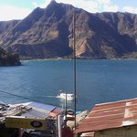 Nice view of Indian's Nose & Lake Atitlan