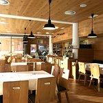 Einrichtung des Restaurants (Zirbenstube nicht im Bild)