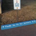Veteran's Parking Space