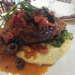 Braised Sicilian Style  #LambShank Daily Special  For Just $20 at  #theCarthageGrille  So good y