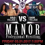 Taste and Experience Florida's only professional wrestling dinner theater www.manorprowrestling.