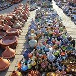Venta de cerámica en la Plaza Al Hedim