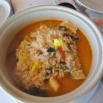 Le riz aux fruits de mer
