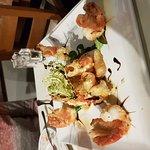 King Prawn sharing platter starter, for two diners.