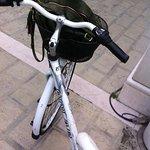 In giro per Abano con la bici dell'albergo