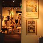 Museum exhibits.