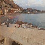 Nice and very popular beach