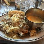 Mushroom Gravy Smothered Chicken