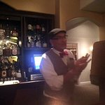 Huntsman bar, we really enjoyed this knowledgeable and personable bartender