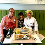 We were privileged to meet Nelia Arrais, the excellent chef at Zest and a wonderful and lovely p