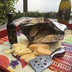 In FL enjoying black balsamic fig on cheese & crackers!