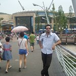 here is Ocean park of Dalian city, was Nice to visit