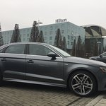 Audi European delivery drop off location